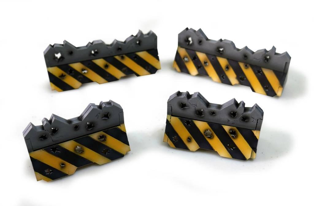 Frontline Gaming ITC Terrain Series: Damaged Urban Barricades