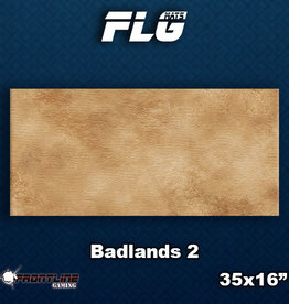 Frontline Gaming FLG Mats: Badlands 2 Desk Mat