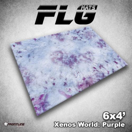 Frontline-Gaming FLG Mats: Xenos World 6x4'