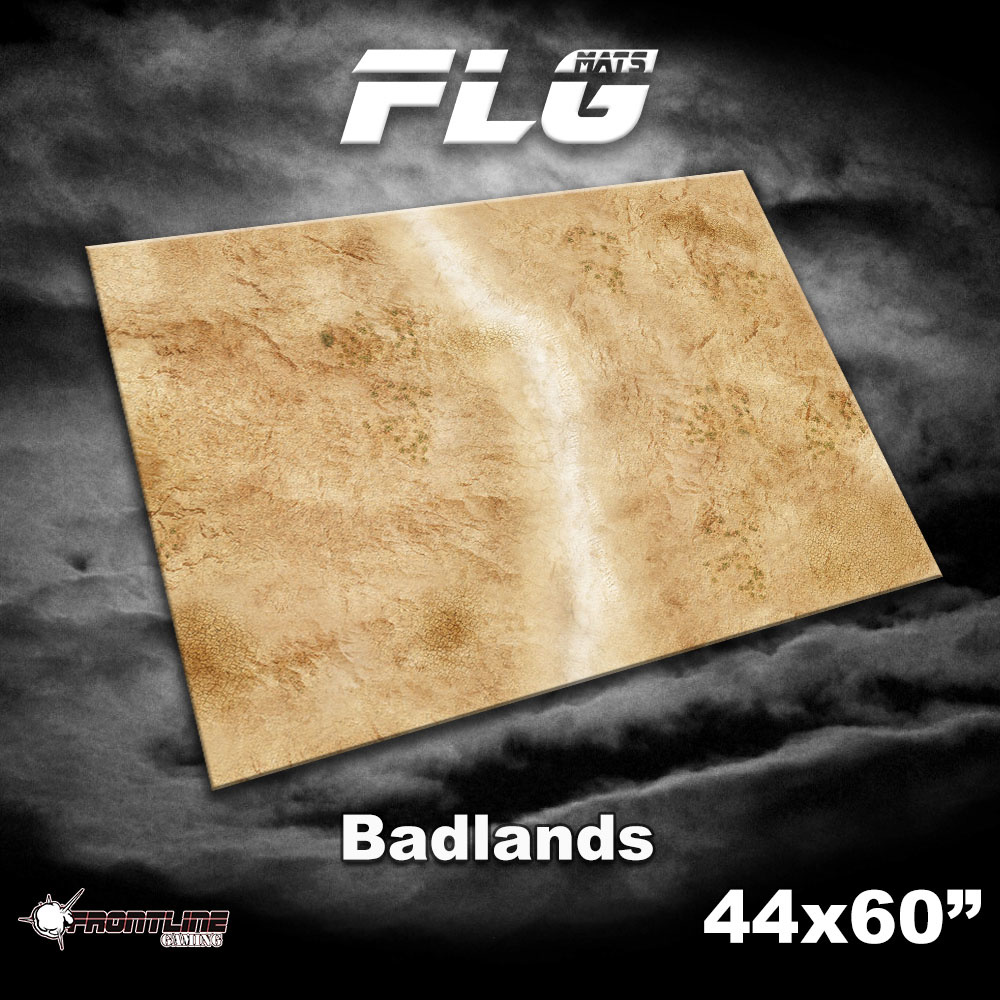 """Frontline-Gaming FLG Mats: Badlands 1 44"""" x 60"""""""