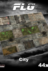 "Frontline-Gaming FLG Mats: City 1 44"" x 60"""