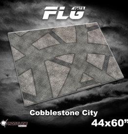 "Frontline-Gaming FLG Mats: Cobblestone City 44"" x 60"""