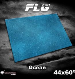"Frontline-Gaming FLG Mats: Ocean 1 44"" x 60"""