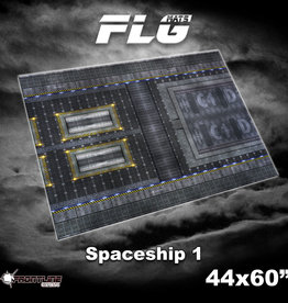 "Frontline-Gaming FLG Mats: Spaceship 1 44"" x 60"""
