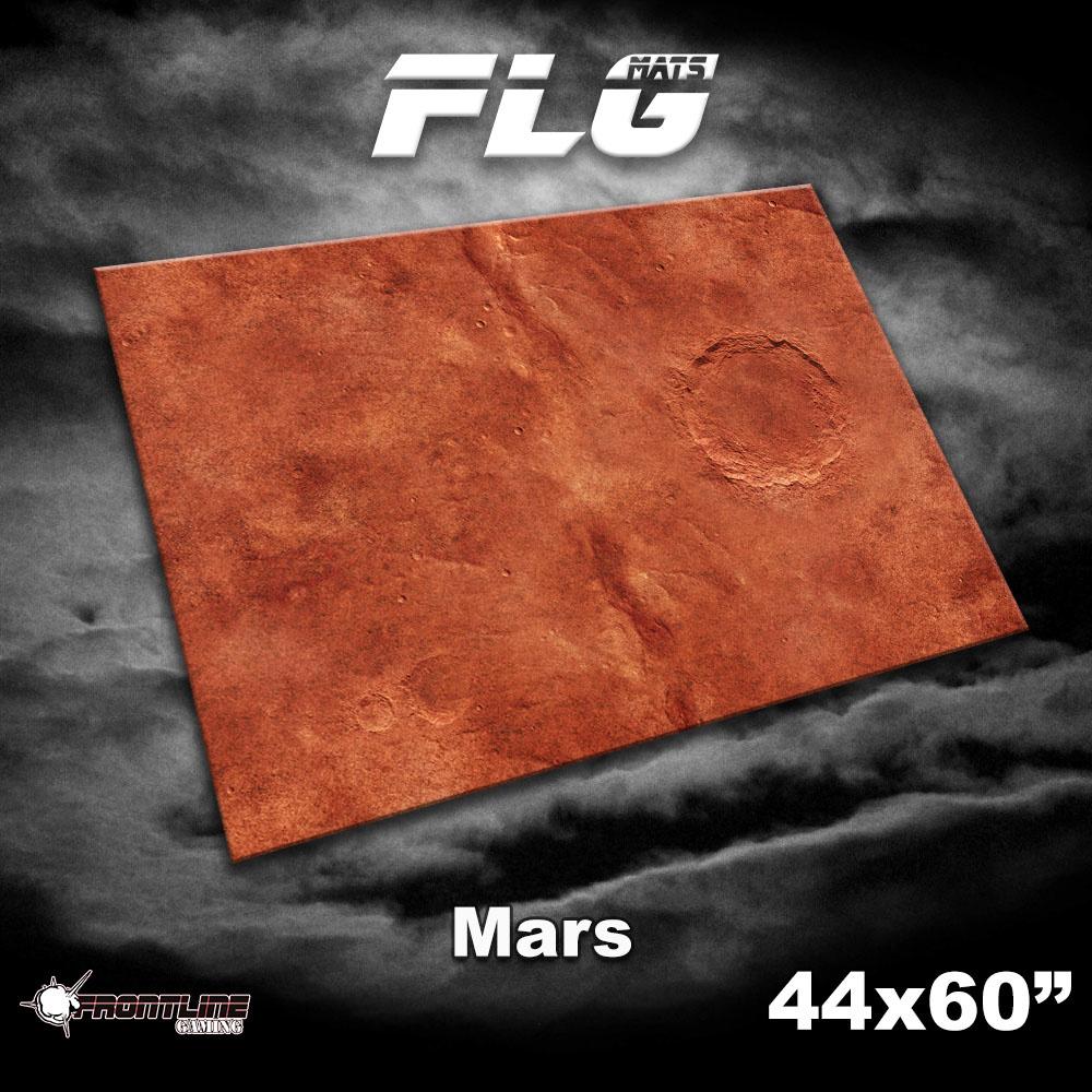 "Frontline-Gaming FLG Mats: Mars 1 44"" x 60"""