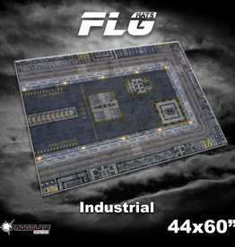 "Frontline Gaming FLG Mats: Industrial 1 44"" x 60"""