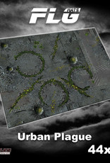 "Frontline-Gaming FLG Mats: Urban Plague 44"" x 60"""
