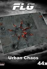 """Frontline-Gaming FLG Mats: Urban Chaos 44"""" x 60"""""""