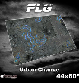 "Frontline-Gaming FLG Mats: Urban Change 44"" x 60"""