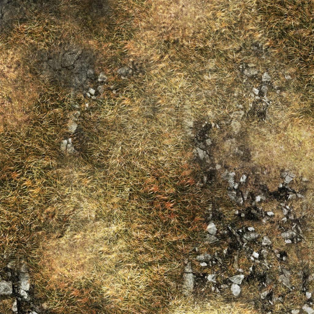 "Frontline-Gaming FLG Mats: Ancient Alien Ruins 44"" x 60"""