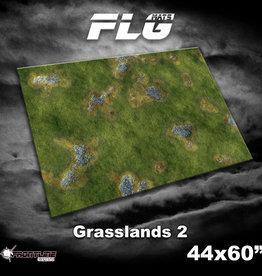 """Frontline-Gaming FLG Mats: Grasslands 2 44"""" x 60"""""""