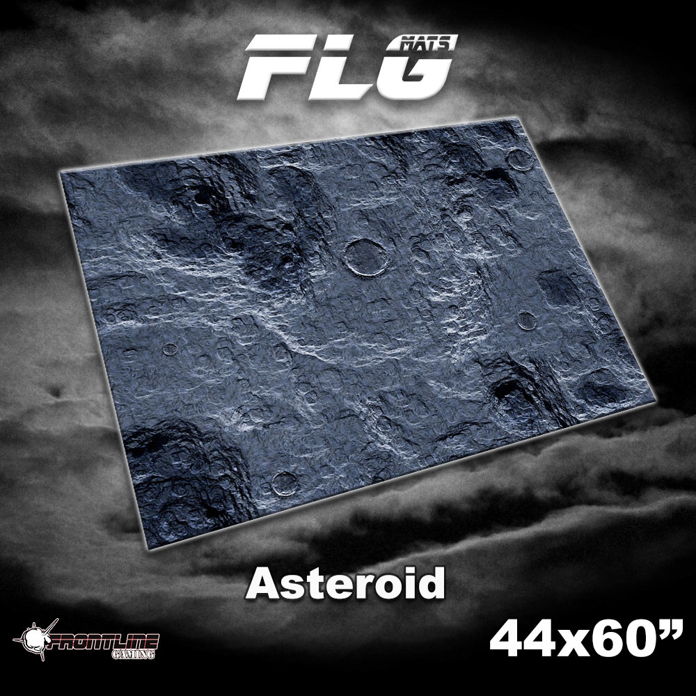 "Frontline-Gaming FLG Mats: Asteroid 44"" x 60"""