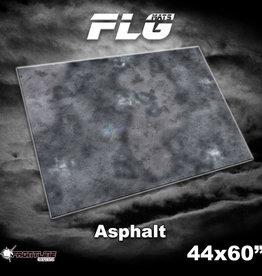 "Frontline-Gaming FLG Mats: Asphalt 44"" x 60"""