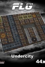 "Frontline-Gaming FLG Mats: Undercity 44"" x 60"""