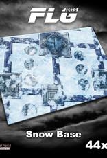 "Frontline-Gaming FLG Mats: Snow Base 44"" x 60"""
