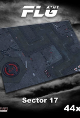"Frontline-Gaming FLG Mats: Sector 17 44"" x 60"""