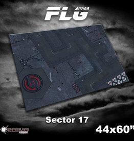 "Frontline-Gaming FLG Mats: Sector 17 44"" x 60"""