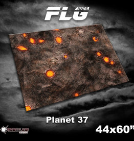 "Frontline-Gaming FLG Mats: Planet 37 44"" x 60"""