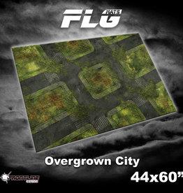 "Frontline-Gaming FLG Mats: Overgrown City 44"" x 60"""
