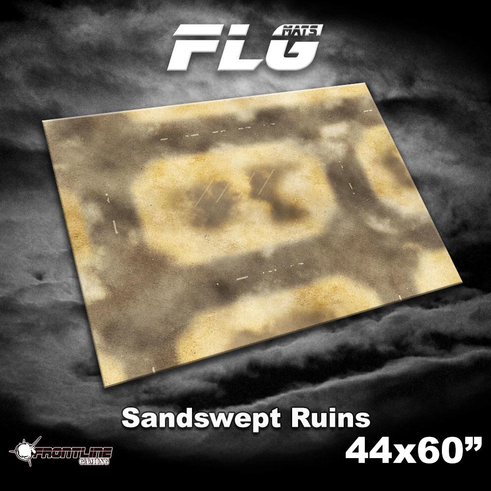 "Frontline-Gaming FLG Mats: Sandswept Ruins 44"" x 60"""