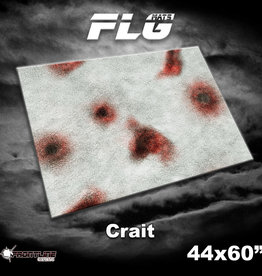 "Frontline-Gaming FLG Mats: Crait 44"" x 60"""