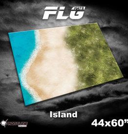"Frontline Gaming FLG Mats: Island 44"" x 60"""