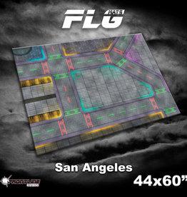"Frontline-Gaming FLG Mats: San Angeles 44"" x 60"""