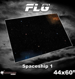 """Frontline-Gaming FLG Mats: Space 44"""" x 60"""""""