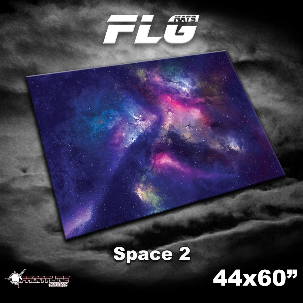 """Frontline-Gaming FLG Mats: Space 2 44"""" x 60"""""""