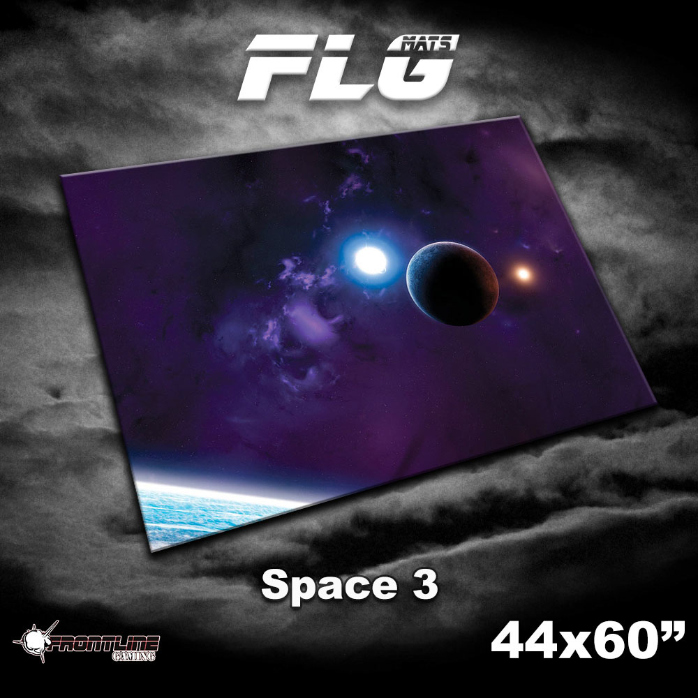 "Frontline-Gaming FLG Mats: Space 3 44"" x 60"""