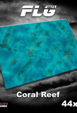 "Frontline-Gaming FLG Mats: Coral Reef  44"" x 60"""