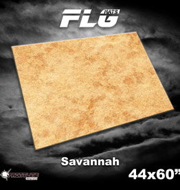 """Frontline-Gaming FLG Mats: Savannah  44"""" x 60"""""""