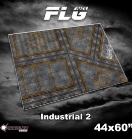 "Frontline Gaming FLG Mats: Industrial 2 44"" x 60"""