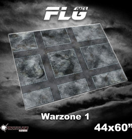 "Frontline Gaming FLG Mats: 8mm Warzone 44"" x 60"""