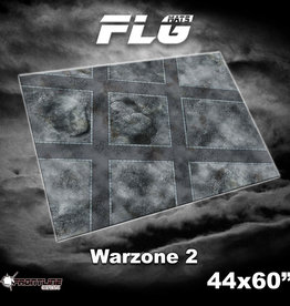 "Frontline Gaming FLG Mats: 8mm Warzone 2 44"" x 60"""