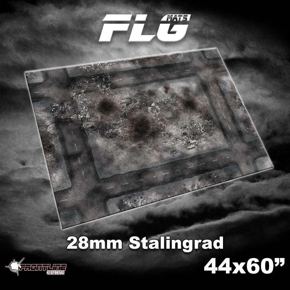 "Frontline-Gaming FLG Mats: 28mm Stalingrad 44"" x 60"""