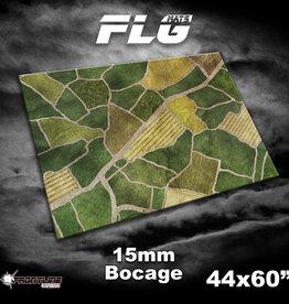 """Frontline-Gaming FLG Mats: 15mm Bocage 44"""" x 60"""""""