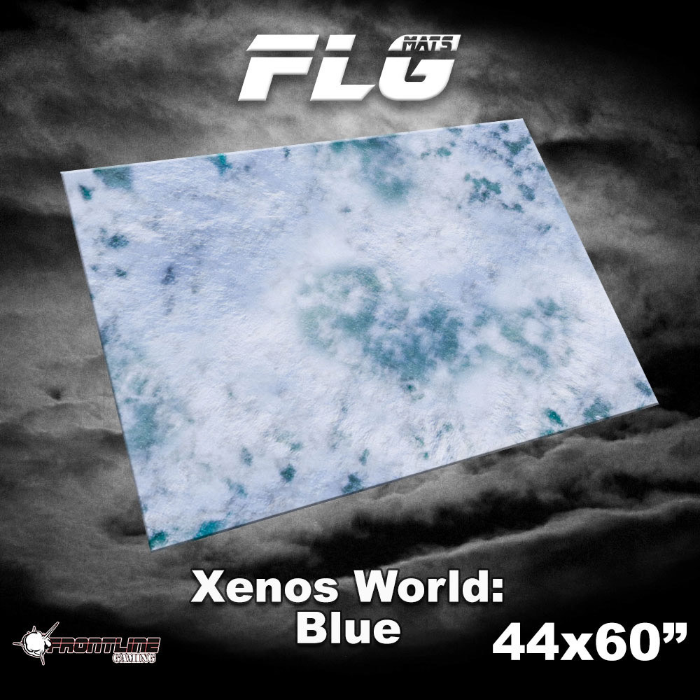 "Frontline-Gaming FLG Mats: Xenos World 44"" x 60"""