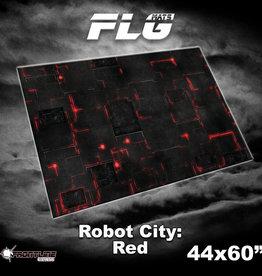 "Frontline-Gaming FLG Mats: Robot City 1 44"" x 60"""