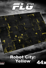 "Frontline-Gaming FLG Mats: Robot City 1 44"" x 60"""