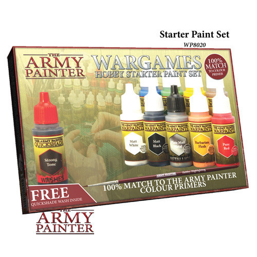 The Army Painter Wargames Hobby Starter Paint Set