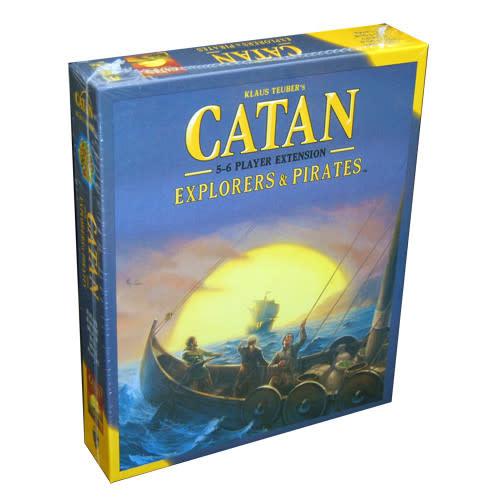 Catan Studios Inc Catan: Explorers and Pirates 5-6 Player Extension