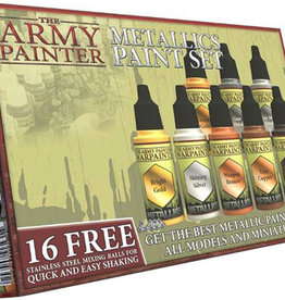 Army Painter Warpaint: Metallics Paint Set (8 colors)