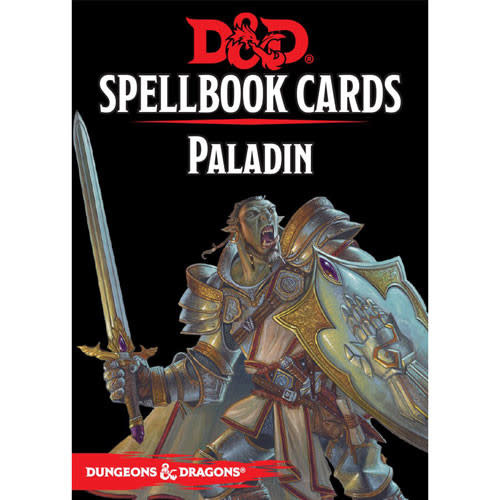 Dungeons & Dragons RPG Dungeons and Dragons RPG: Spellbook Cards - Paladin Deck (69 cards)