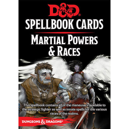 Dungeons & Dragons RPG Dungeons and Dragons RPG: Spellbook Cards - Martial Deck (61 cards)