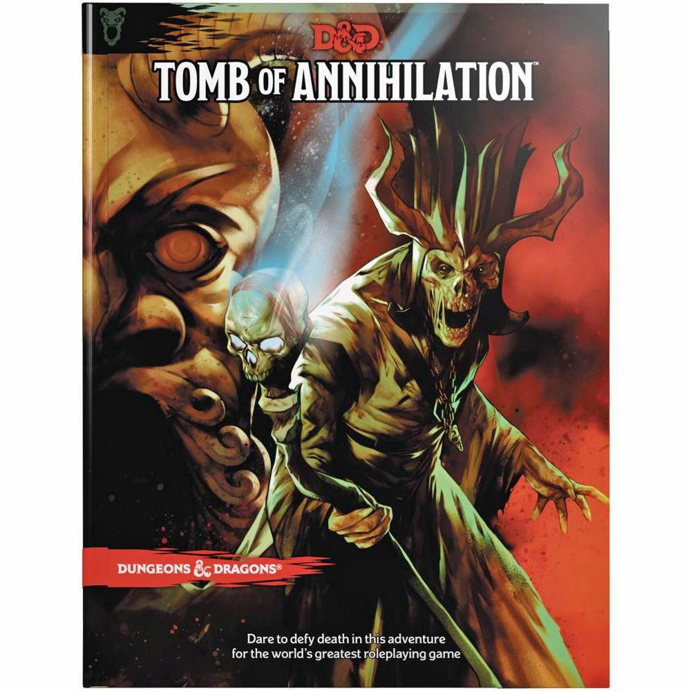 Dungeons & Dragons RPG Dungeons and Dragons RPG: Tomb of Annihilation