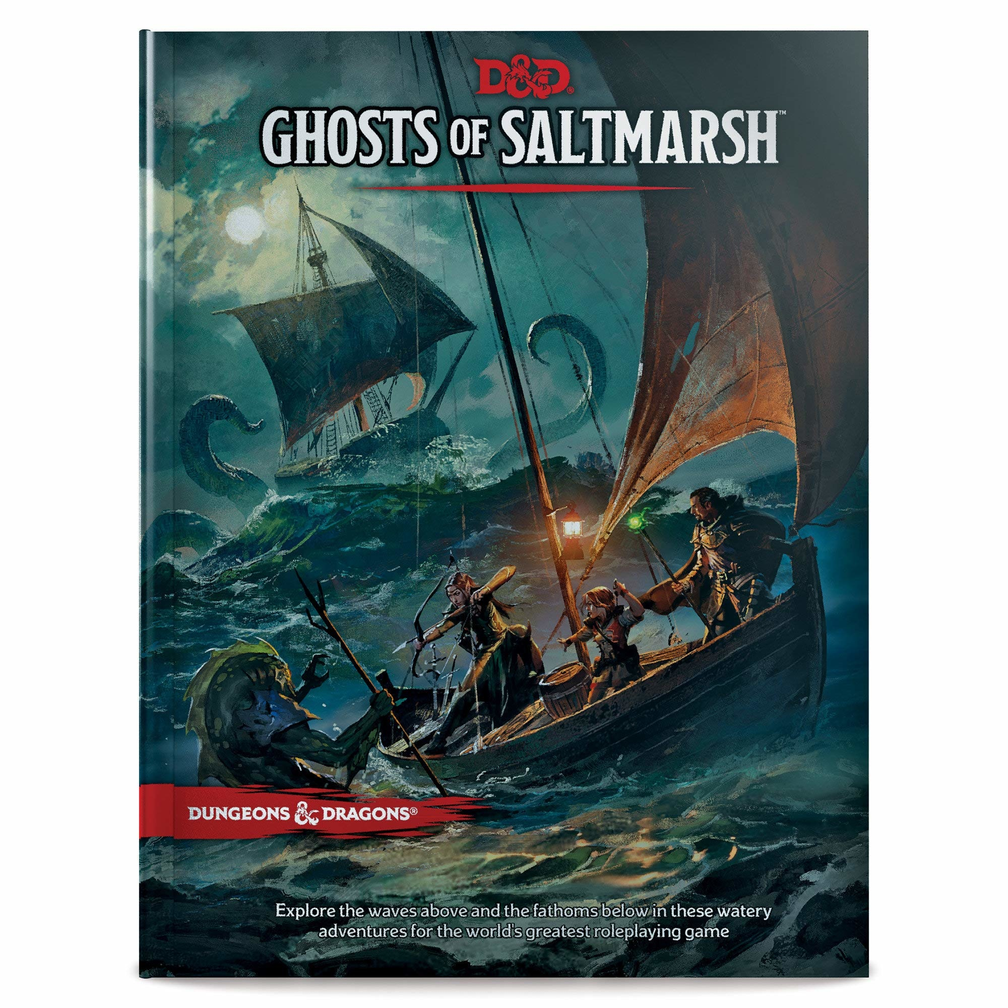 Dungeons & Dragons RPG Dungeons and Dragons RPG: Ghosts of Saltmarsh