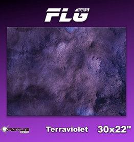 """Frontline-Gaming FLG Mats: Terraviolet 30"""" x 22"""""""