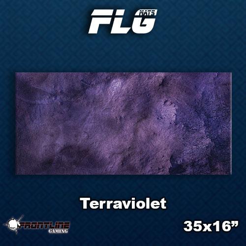 Frontline-Gaming FLG Mats: Terraviolet Desk Mat
