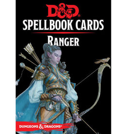 Dungeons & Dragons RPG Dungeons and Dragons RPG: Spellbook Cards - Ranger Deck (46 cards)